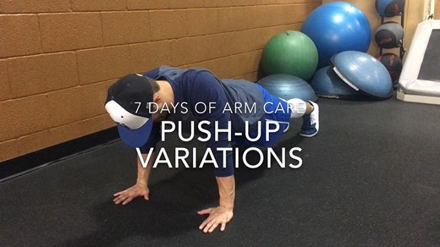#7daysofarmcare  PUSH-UP and ROW VARIATIONS  Video 1 ——— ✔️Push-up with plus ✔️Alternating medball push-up ✔️Bird dog push-up ✔️Partner push-up ✔️Bosu ball push-up ✔️Weighted push-up  Video 2 ——— ✔️Bent over dumbbell Row ✔️Standing cable row ✔️Inverted row ✔️Single arm row ✔️Lat pulldown ✔️Seated row with shrug ✔️Face pull high Row