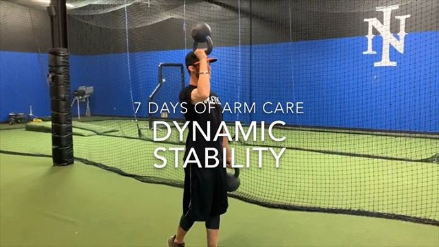 #7daysofarmcare  DYNAMIC STABILITY and NEUROMOTOR CONTROL  Video 1 —— ✔️Bottoms up kettlebell carry ✔️Sidelying external rotation toss ups ✔️ 90/90 dynamic ball toss ✔️J band dynamic ER . . Video 2 —— A few @axiotraining drills we like to use.  This tool has been amazing for myself and many athletes I've worked with.  As a physical therapist I've used every stability training tool imaginable (shoulder sphere, shoulder tube, body blade etc.) None of them come close to the resistance provided by the Axio.