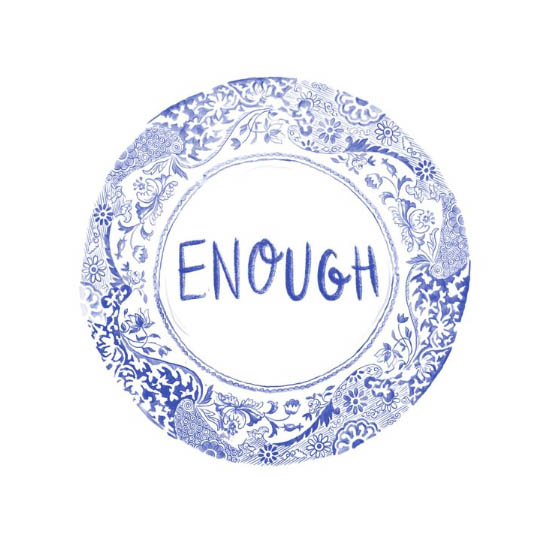 Enough on your plate by Rosie Johnson Illustrates