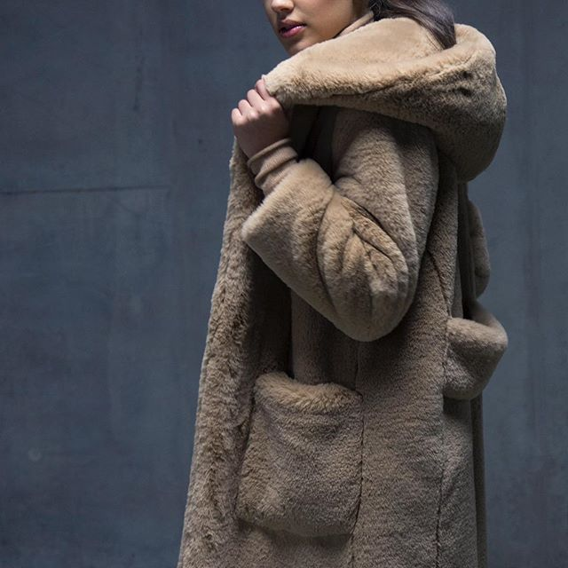 @thurmes, our beloved KELLY hooded faux fur coat. Get yours now ! Link in bio!  #fashion #teddycoat #fauxfur #camel #camelcoat #art #design #onlineshopping #onlineboutique #makeup #style #shoppingonline #beauty #beautiful #warmup #ootd #hoodies #womenempowerment #womensfashion #envywear #luxury #lifestyle #picoftheday #sustainablefashion #fair #love #life #thurmes