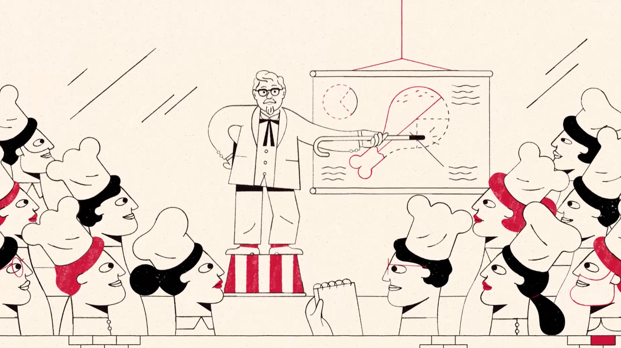 KFC hand cooking video – Pixonal – Buck project