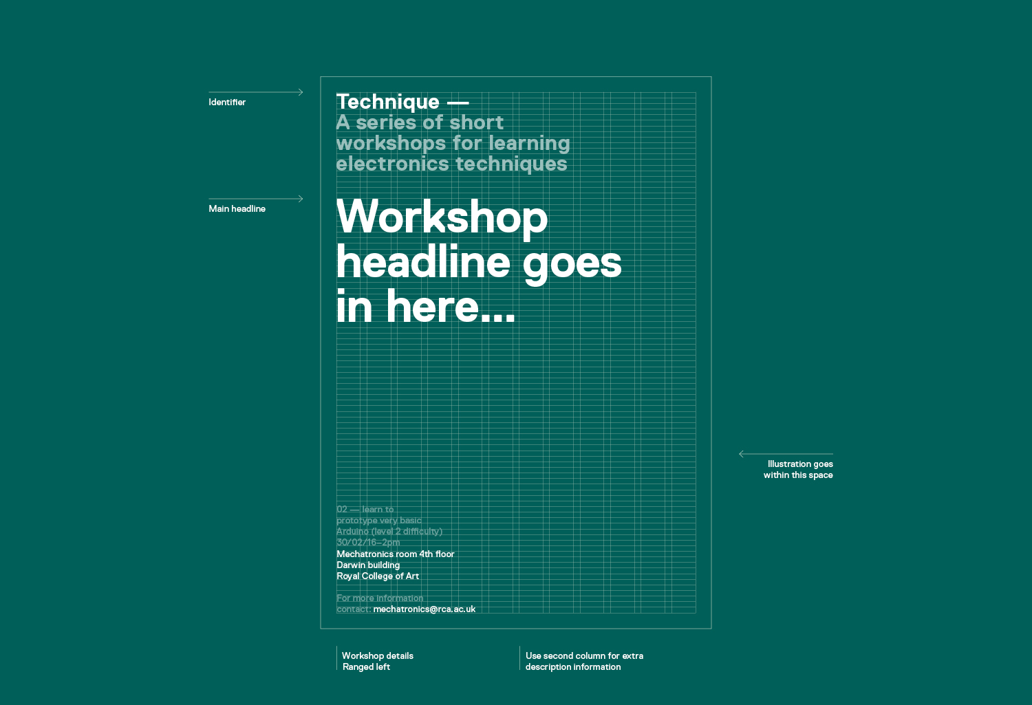 Technique workshops_Royal College of Art_poster designs_identity_Alan Clarke-Symonds_grid system.jpg