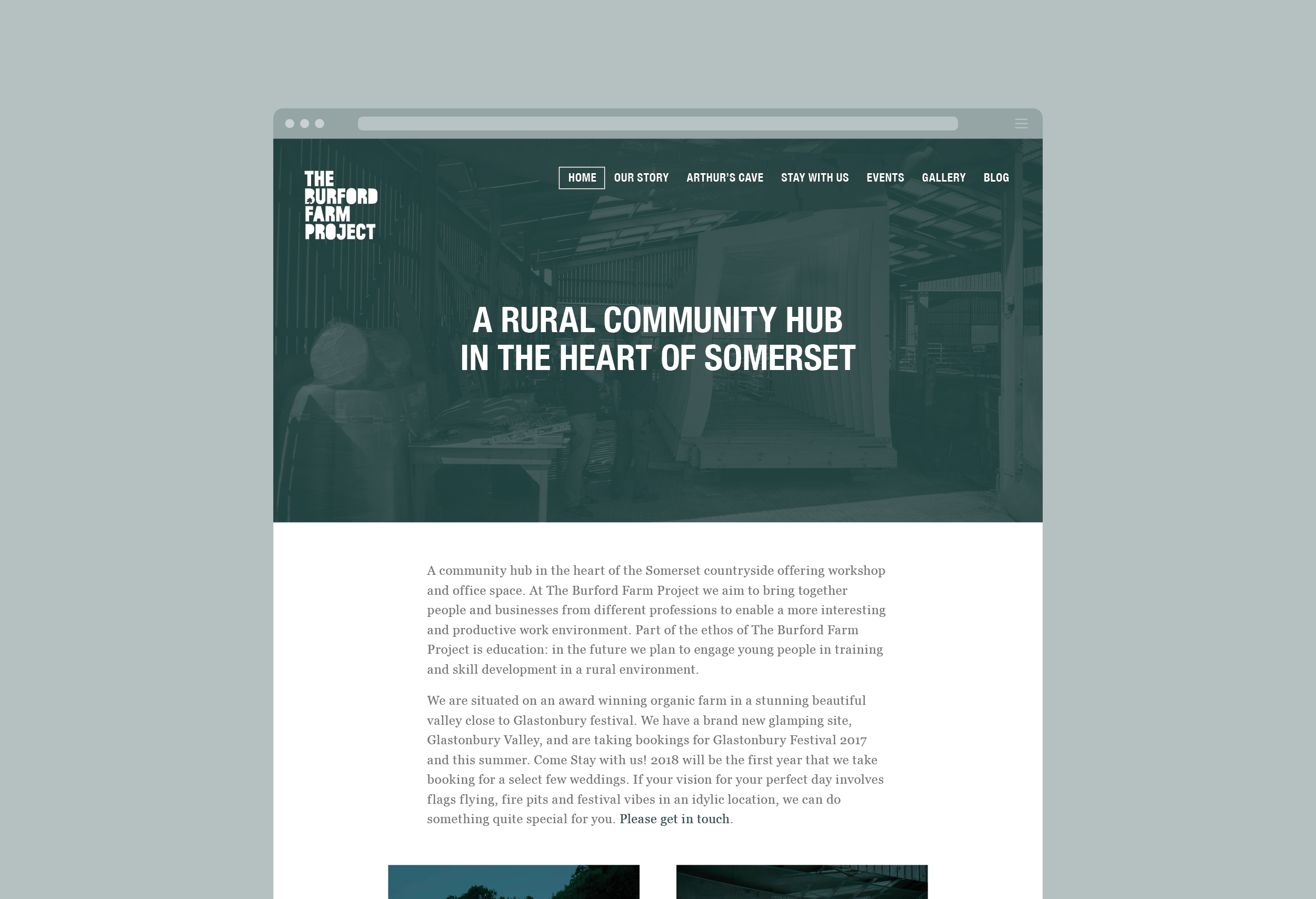 Alan_Clarke-Symonds_Burford Farm_responsive website design_homepage view_rural community page.jpg