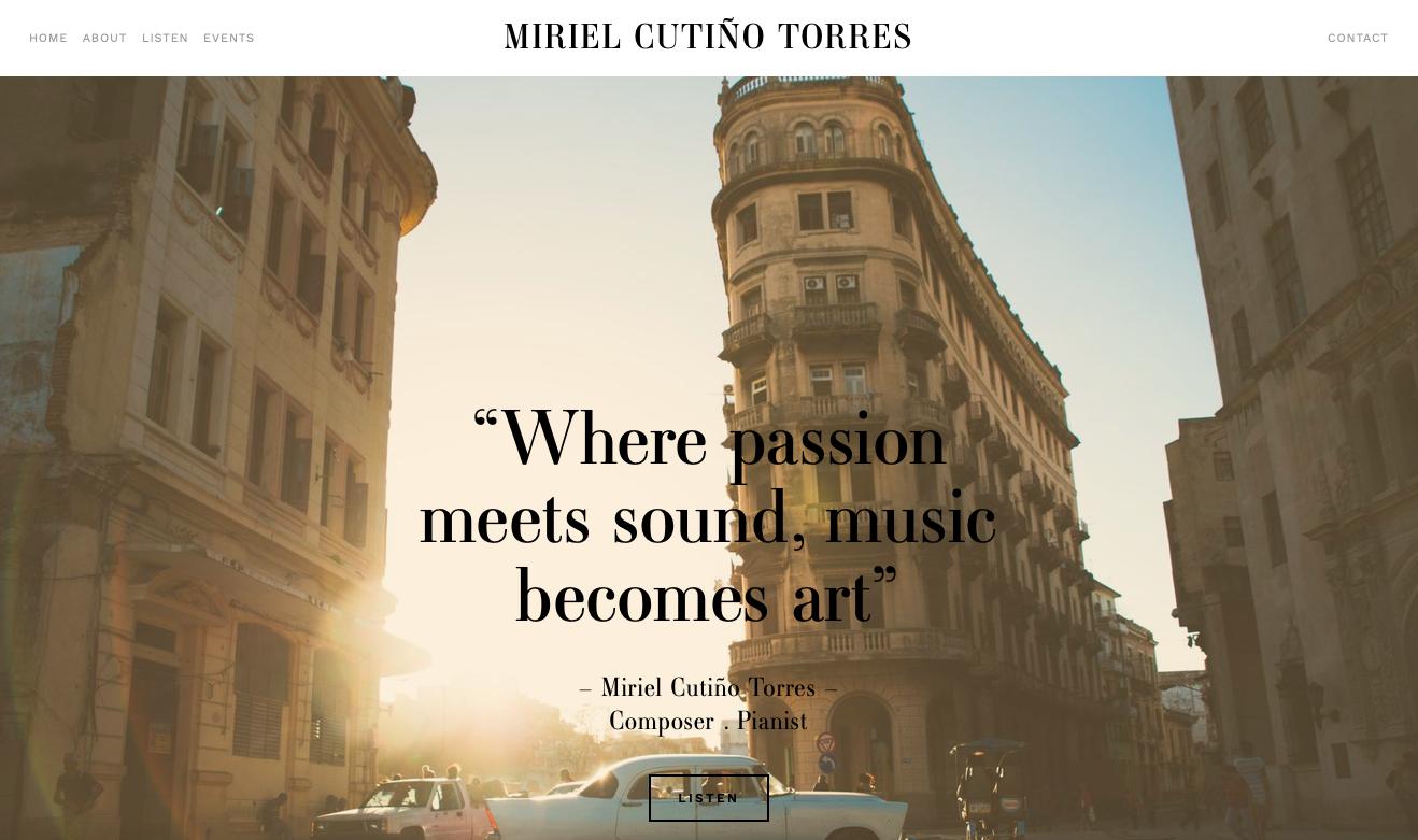 MIRIEL CUTIÑO TORRES – Composer & Pianist