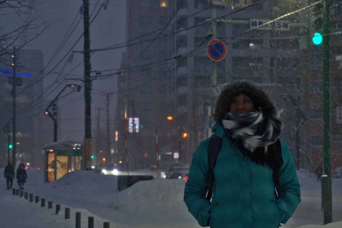 Elodie, Sapporo, Japon