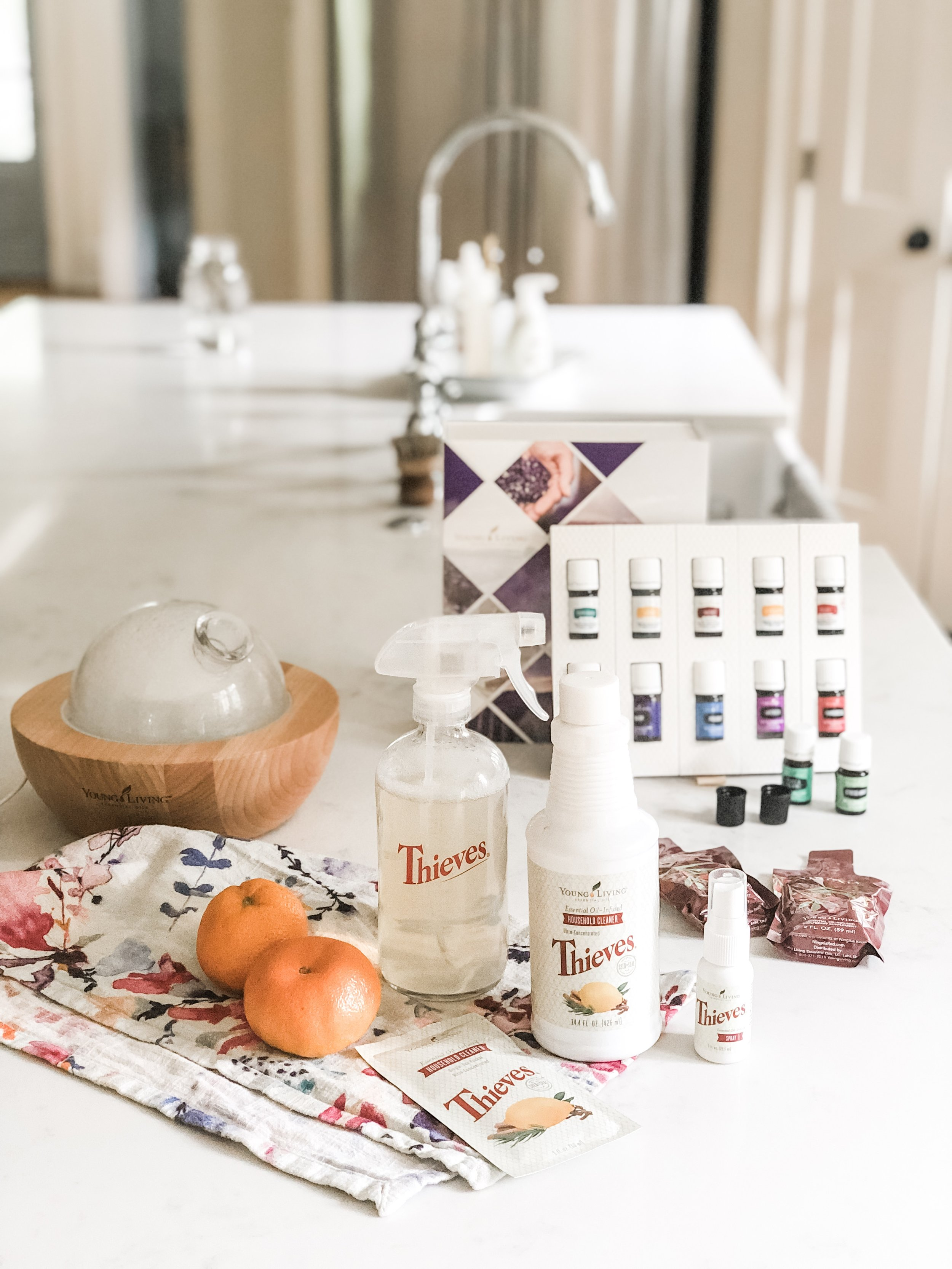 how to get started with - oils + young living