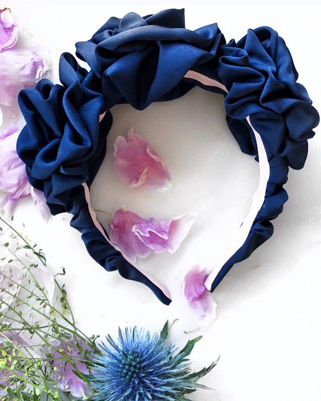 Navy Blue Diana Headband 💙