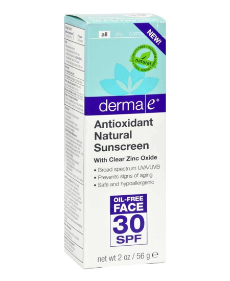 Derma E Sunscreen (Face)