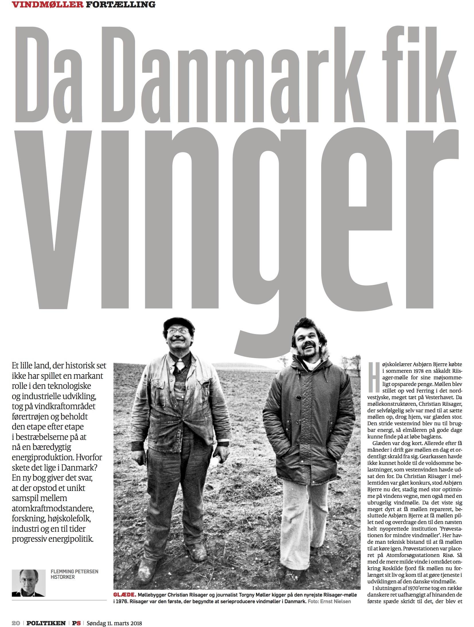 Da Danmark fik vindmøller - Politikken 10.marts.jpg
