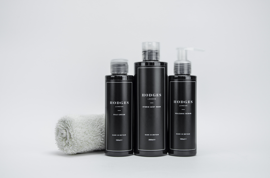 Whether you work underground or in the city, our  skin essentials kit  will cleanse, remove impurities and balance your skin.