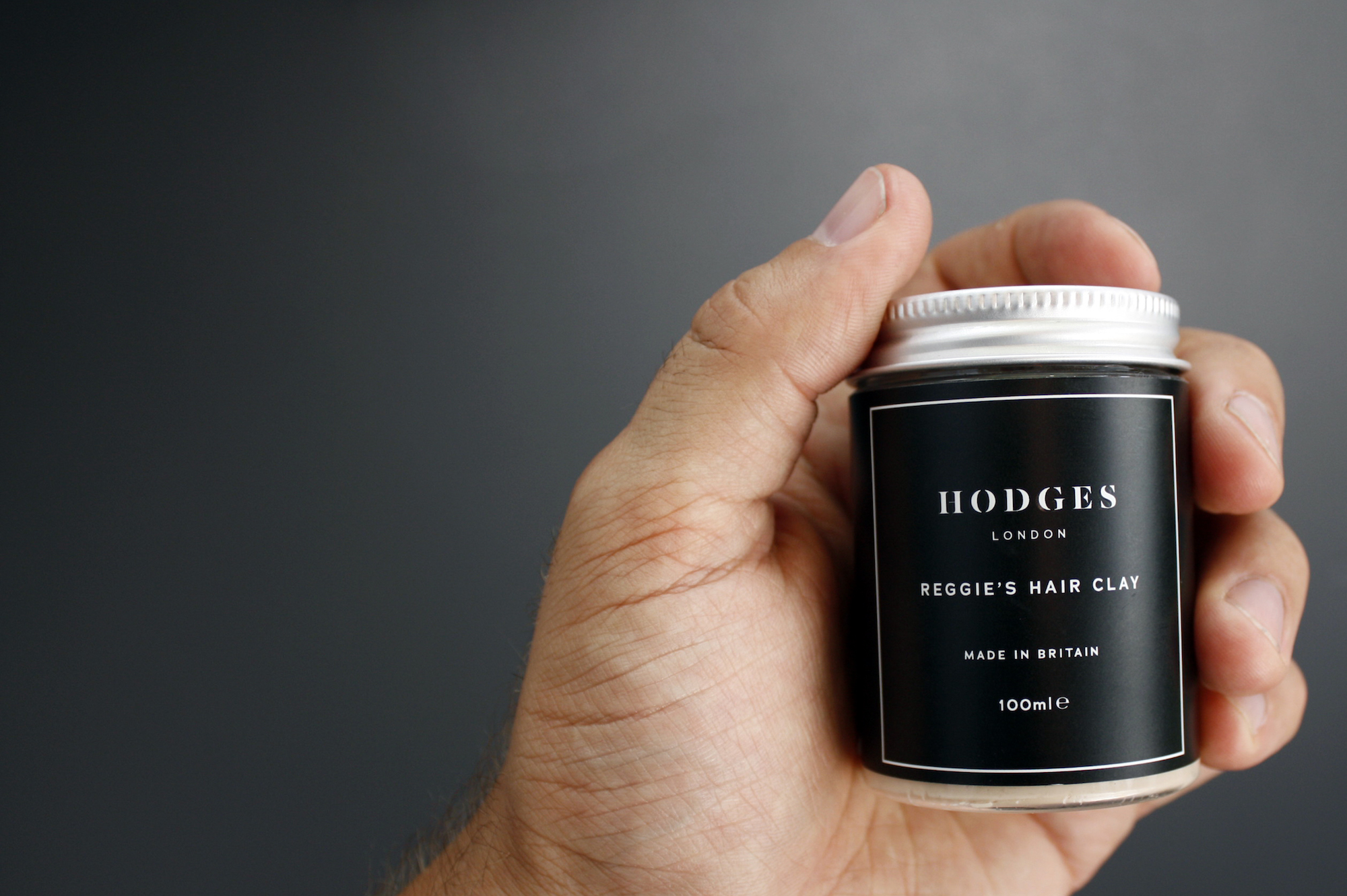 Reggie's Hair Clay by Hodges is made in Britain from using a high-performance, natural formula.