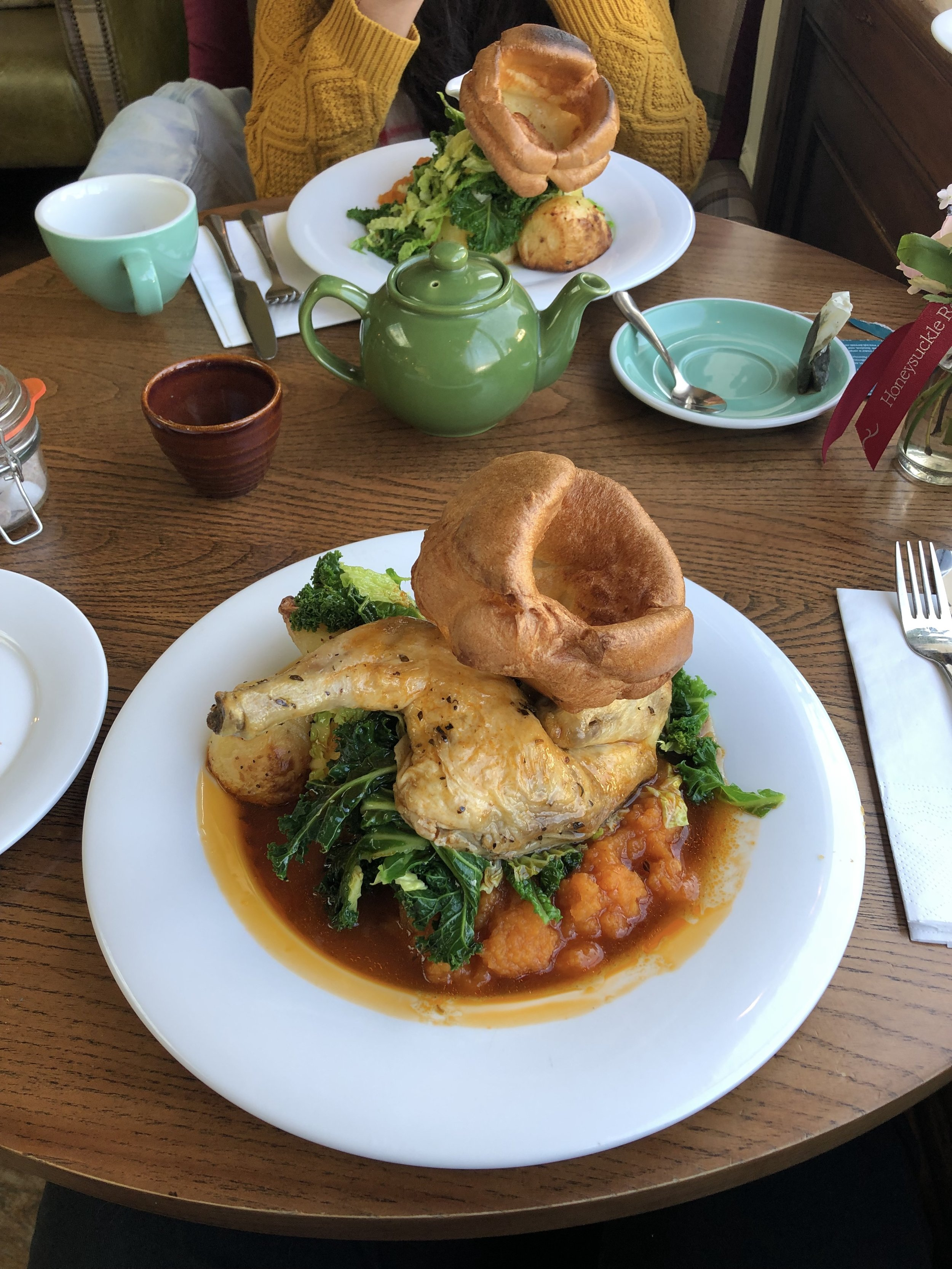 Roast Chicken at the Spring Grove, Kingston upon thames