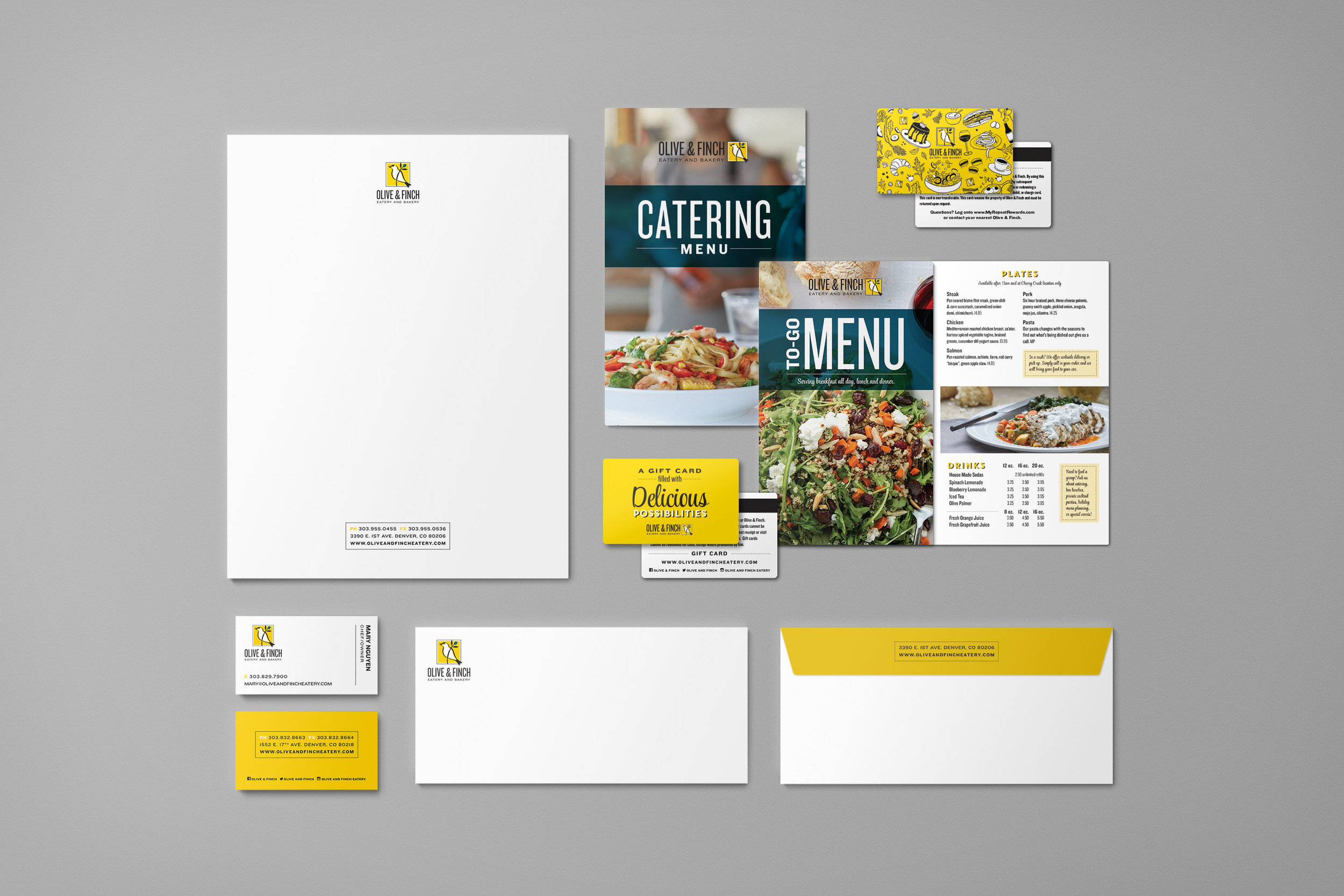 Brand Identity Refresh and Printed Materials