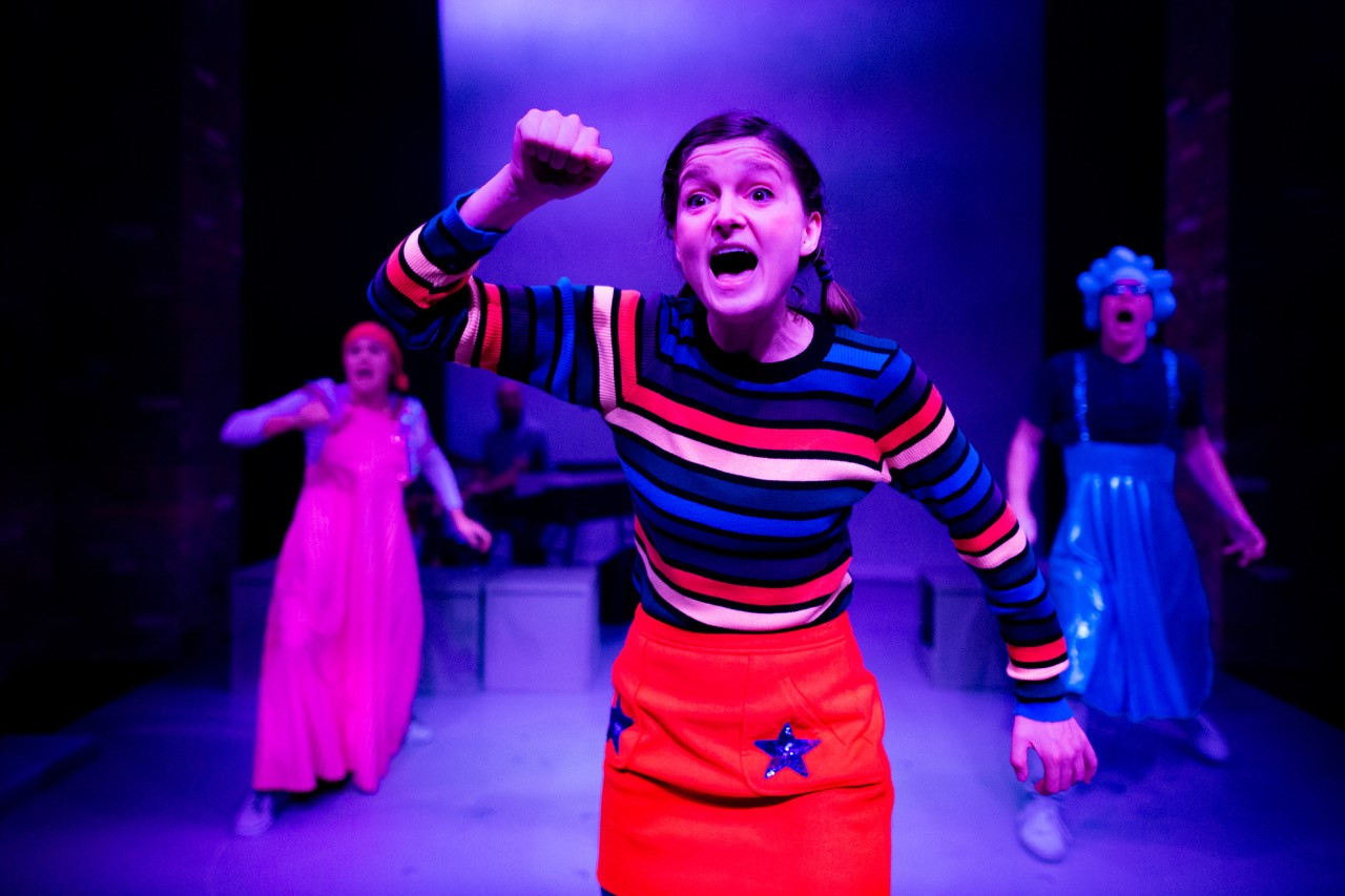 Hannah Kamen, Charlotte Dubery and Peter Edwards in Chloe and the Colour....jpg