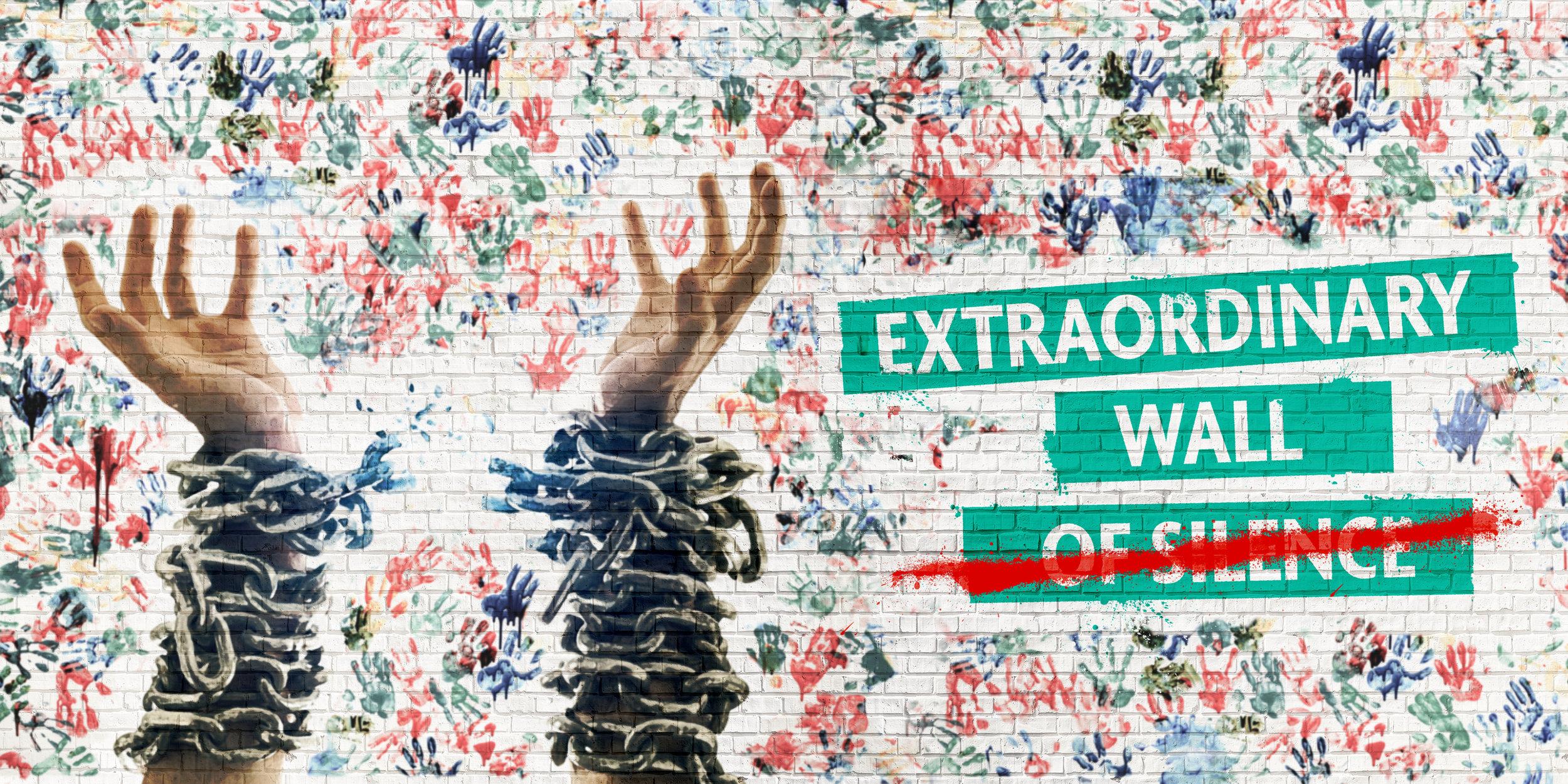 Extraordinary Wall o̶f̶ ̶S̶i̶l̶e̶n̶c̶e̶ (with title) LANDSCAPE Image Credit Peter Moffat.jpg