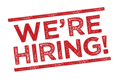 Join the Team - We are looking for energetic people with excellent customer service skills and a teamwork attitide to join our team.