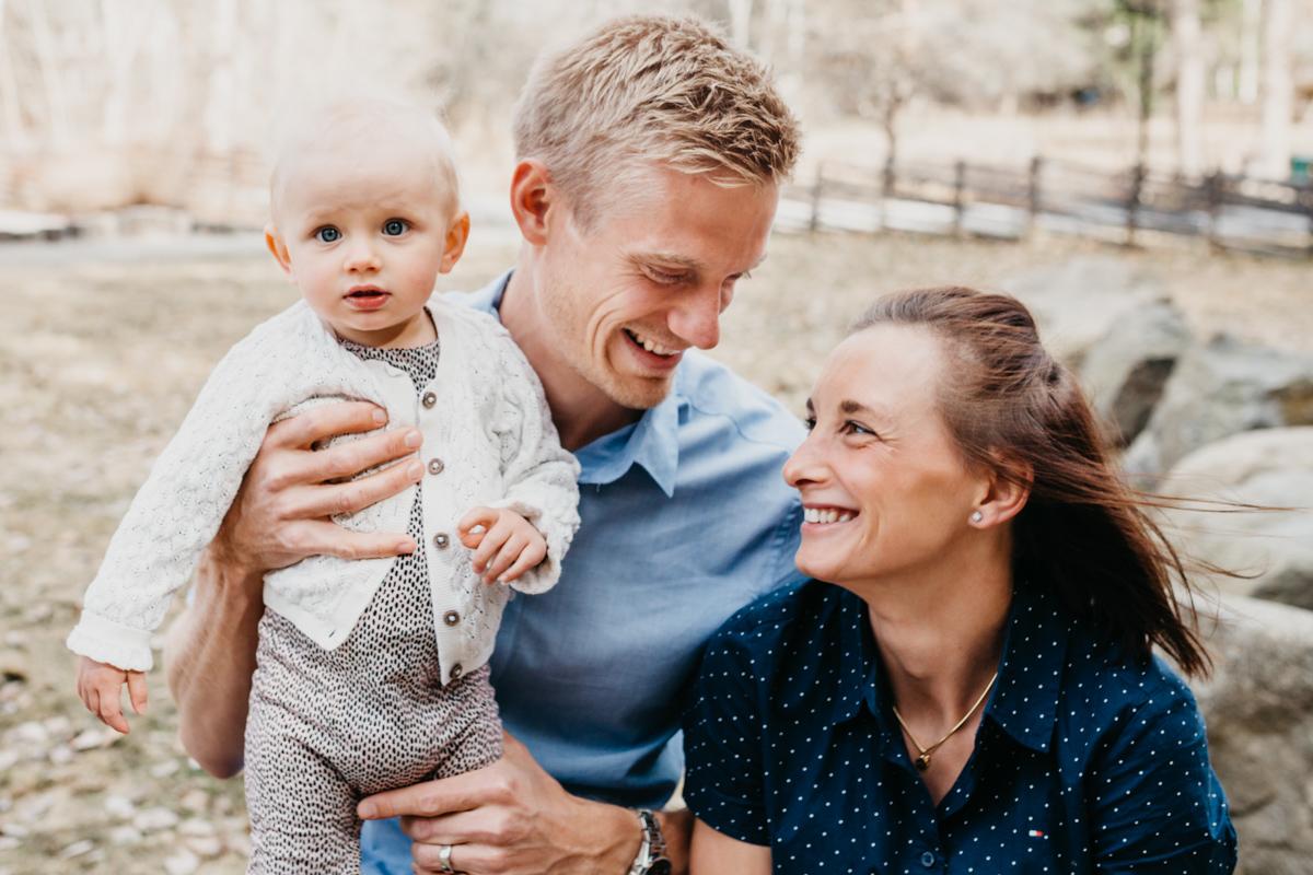 Kärleksfulla familjebilder