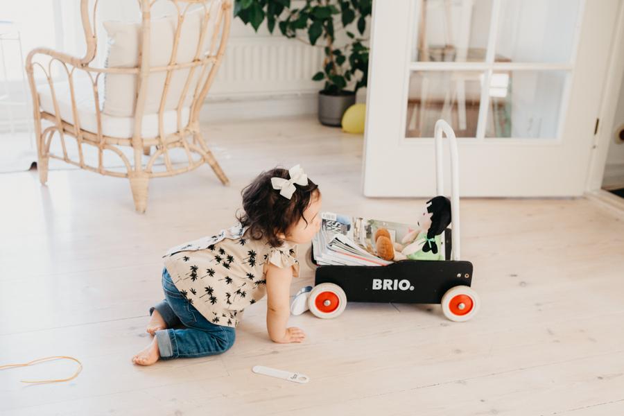 Lära gå vagn