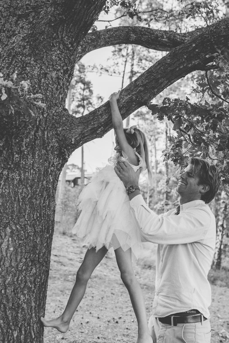 klättra i träd