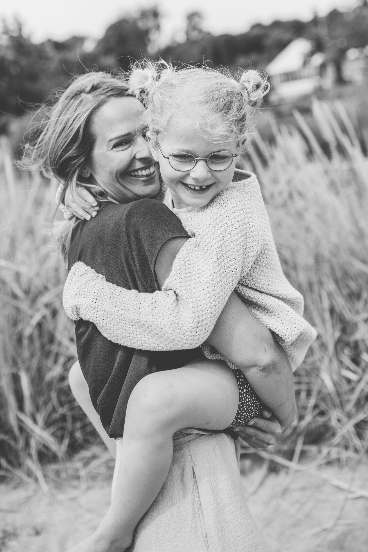Mamma och barnfotografering