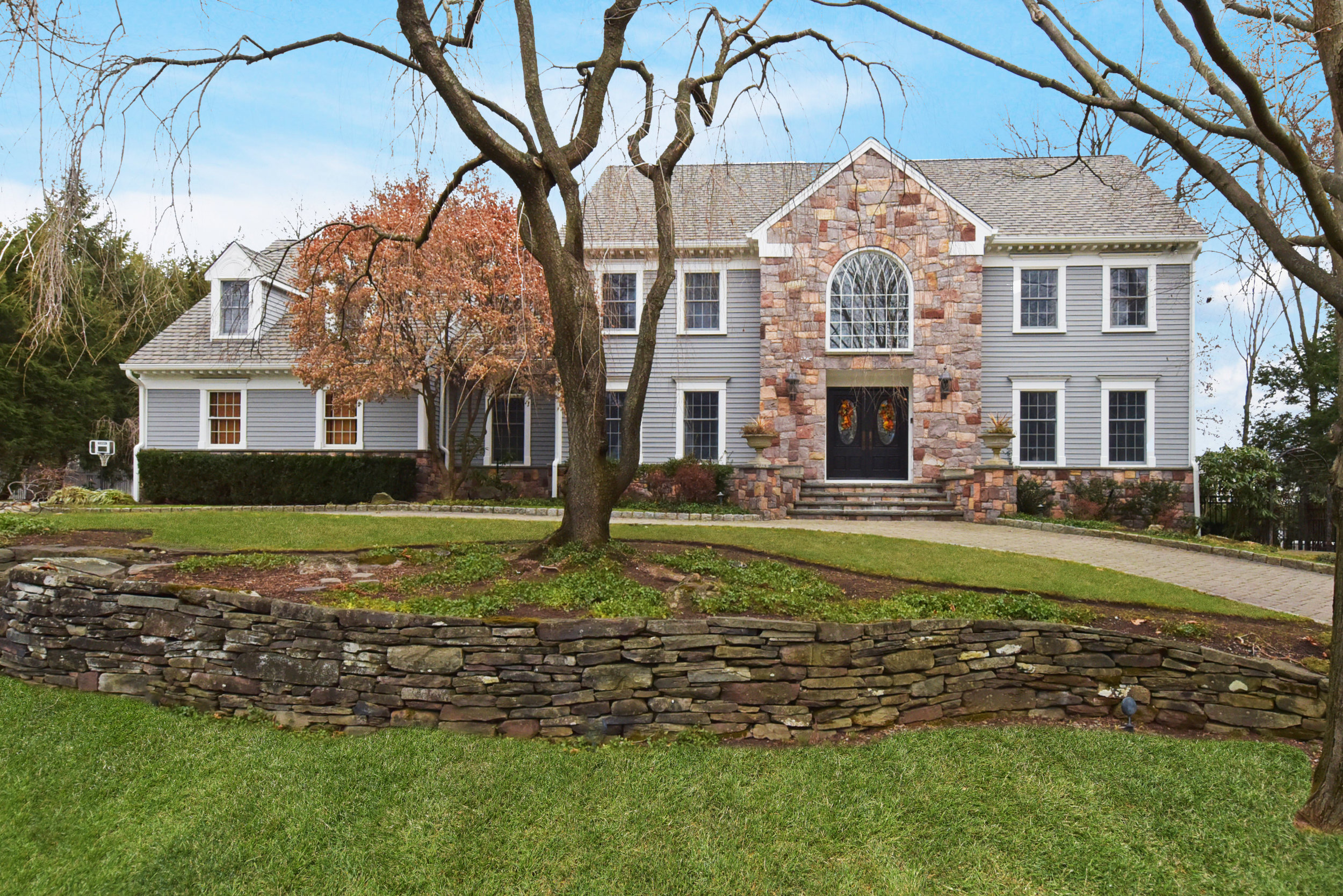 Center Hall Colonial Franklin Lakes NJ