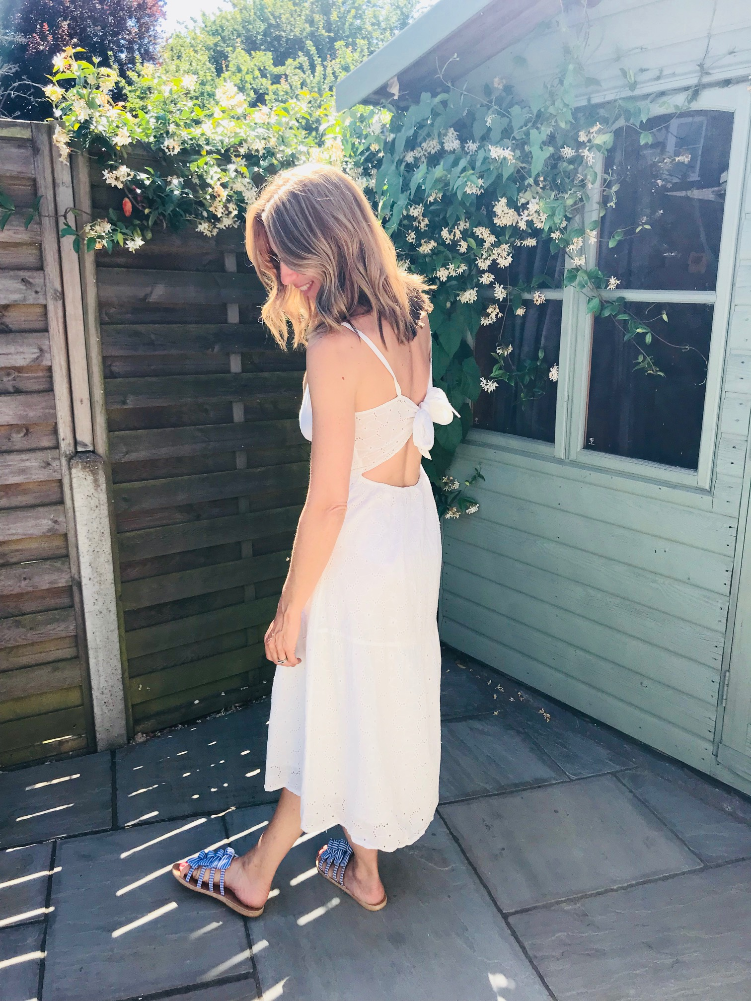 Dress - From Asos by Mango £49.99Can't wear a braLovely back detailQuite see through Very light weight fabric