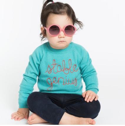 Kids sweater:  Lingua Franca