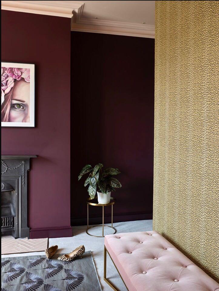 My bedroom Wallpaper:  House Of Hackney