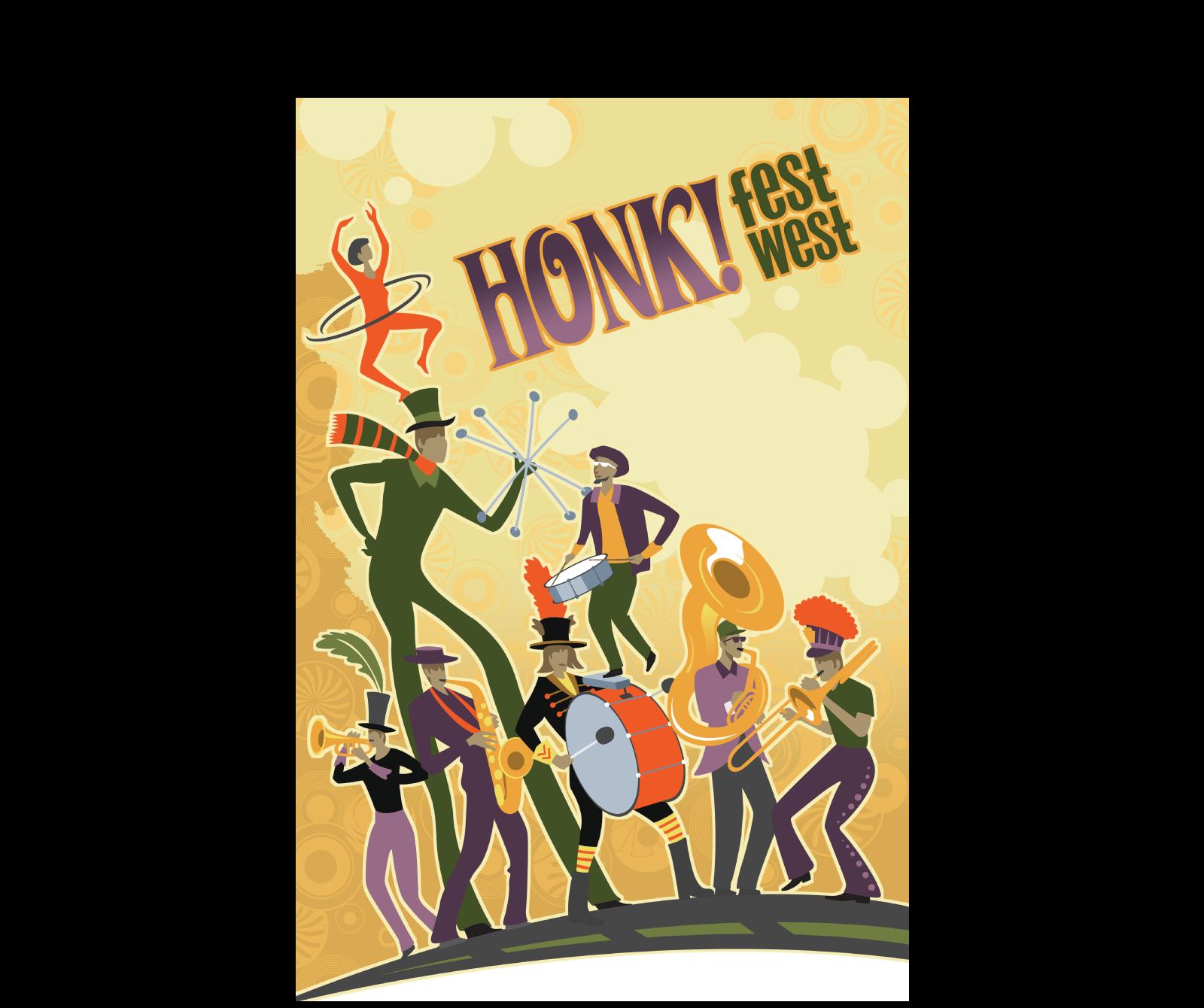 HONKFest poster