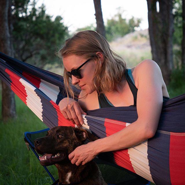 #sunset @inkslakesp with @emursch and Dewey dog. #adobelightroomcc #lumix #lumixg5 #hamock #hamocklife #camping #deweydog