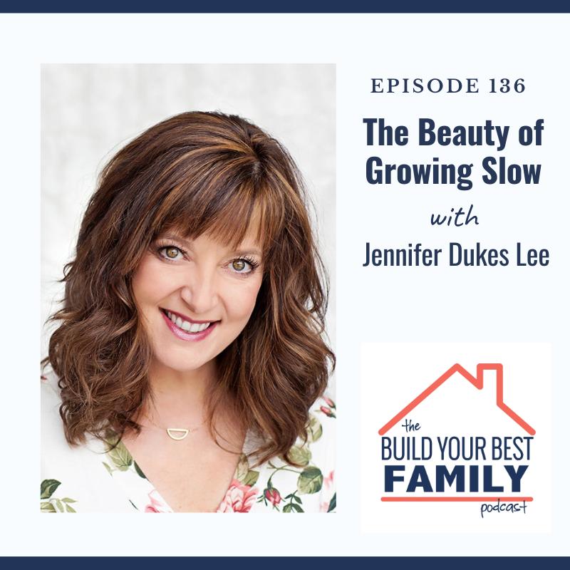 Jennifer Dukes Lee on The Beauty of Growing Slow