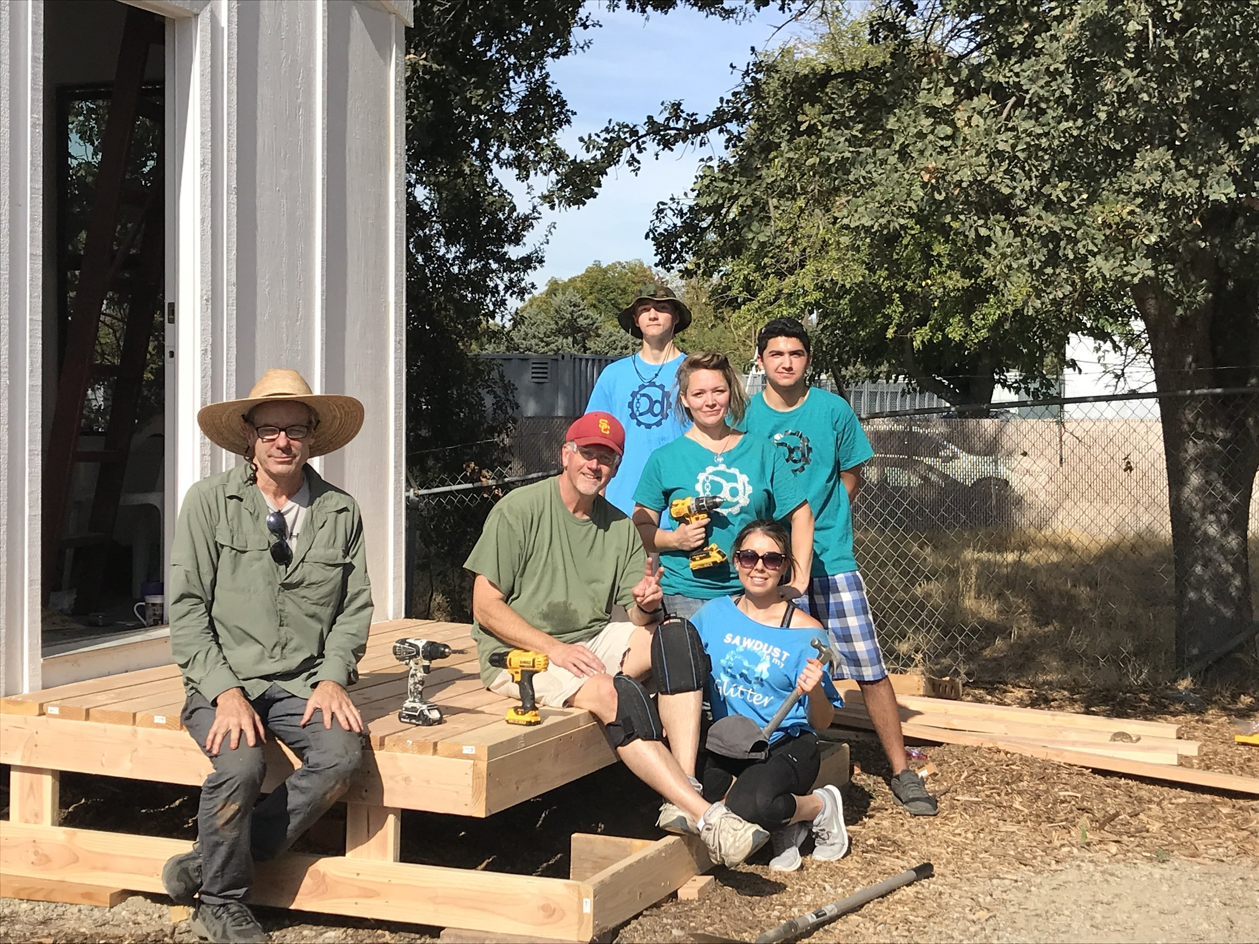 Business Leaders solving Homelessness through Tiny Home Design and Builds.