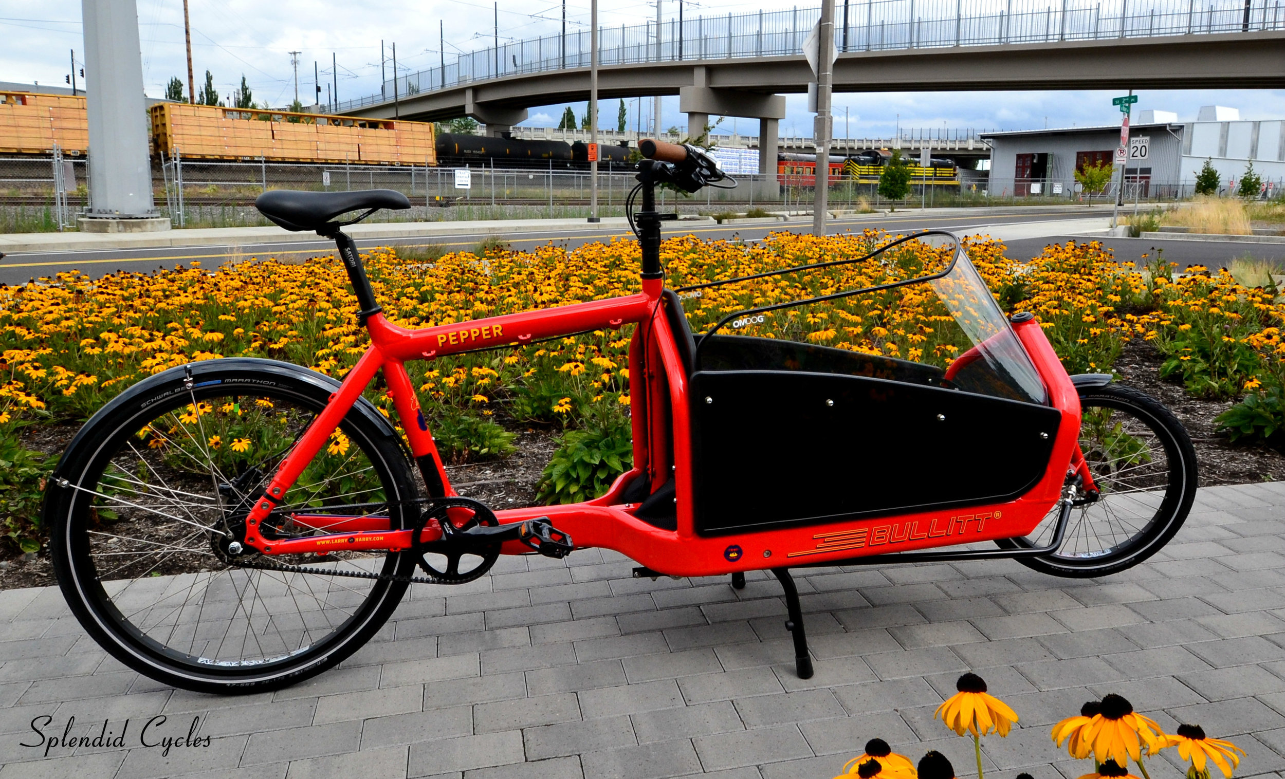 Bullitt Cargo Bikes By Larry Vs Harry