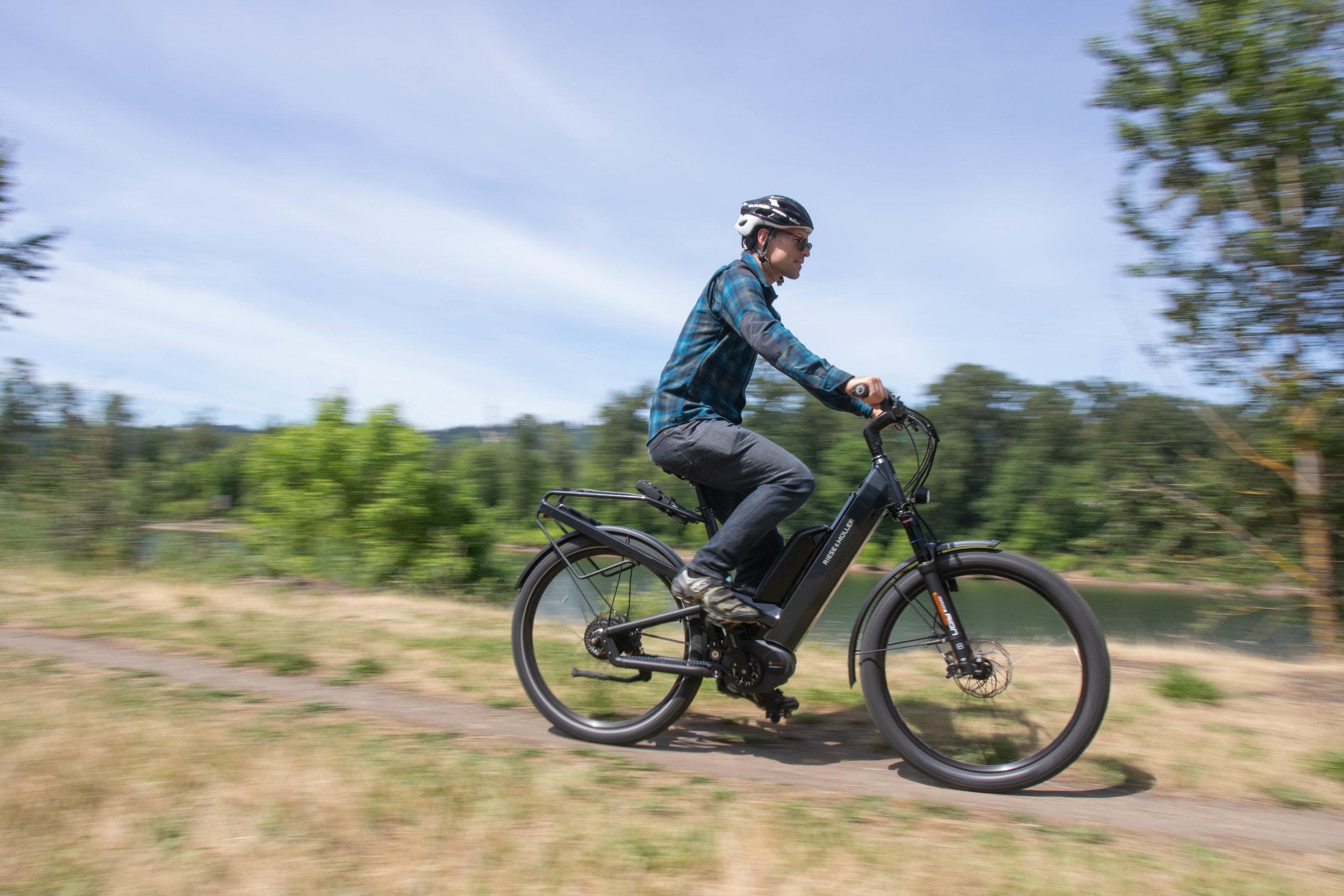 Riese & Muller E-bikes -