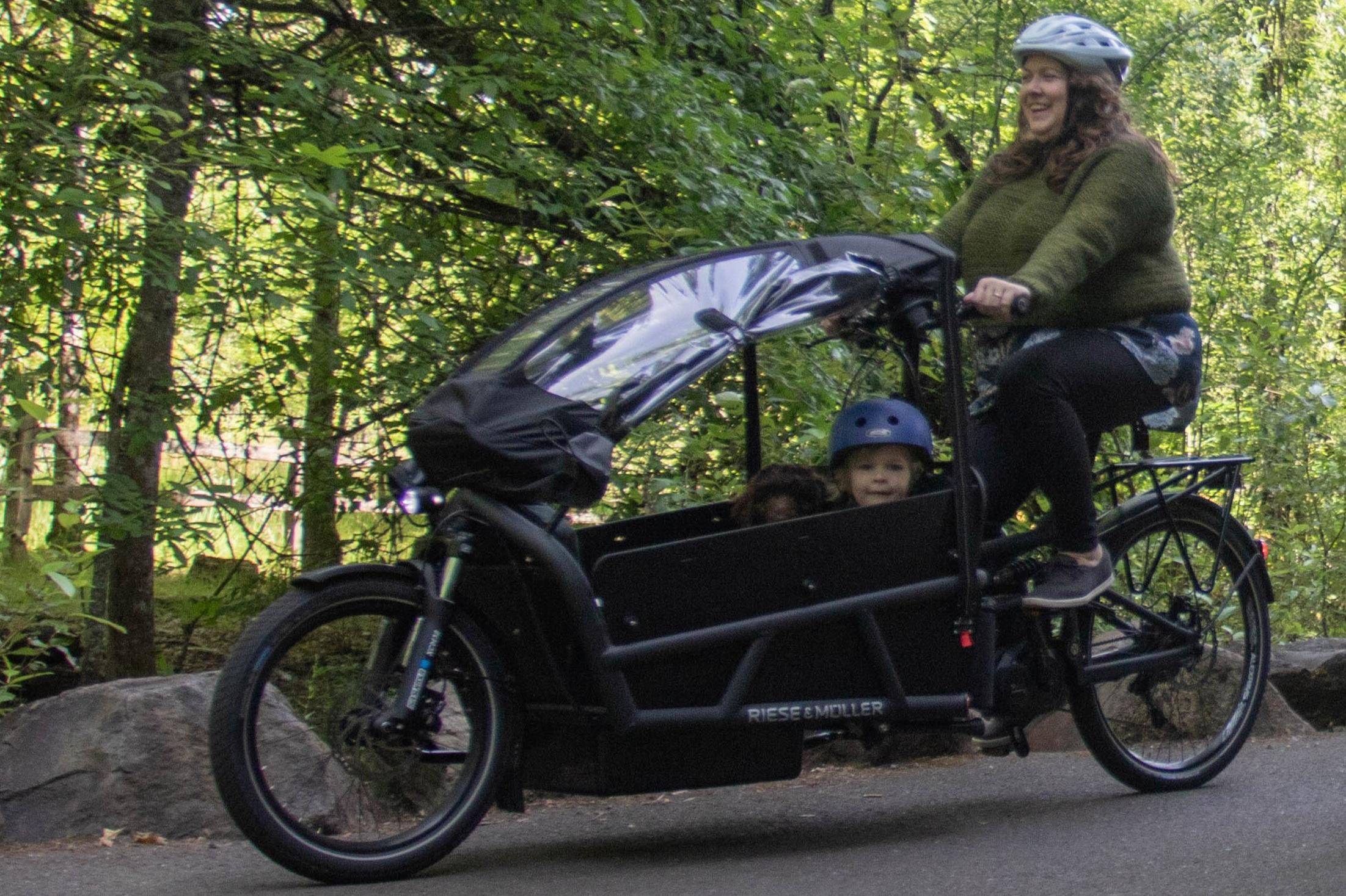 Riese & MullerCargo Bikes -