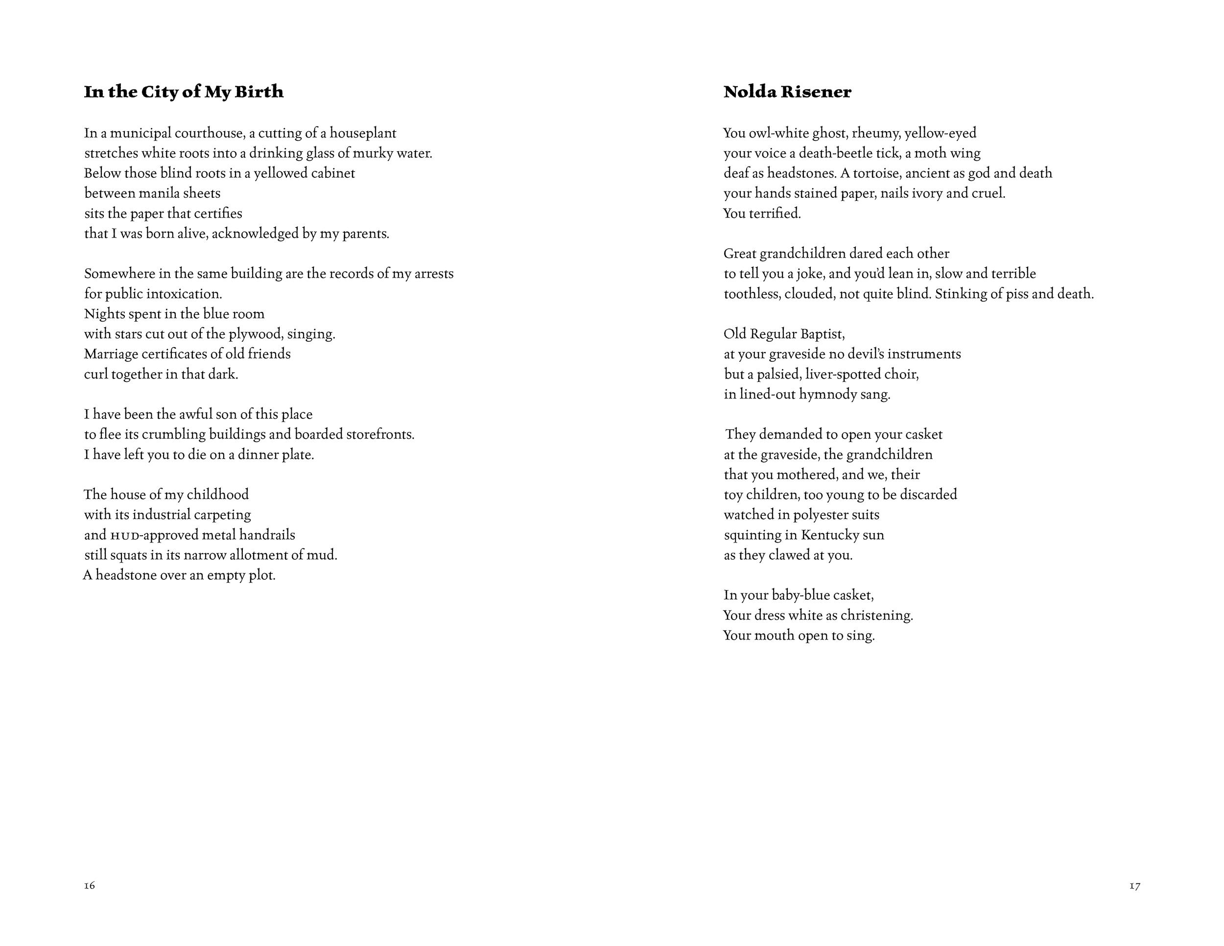 Poems from DEVIL'S RADIO