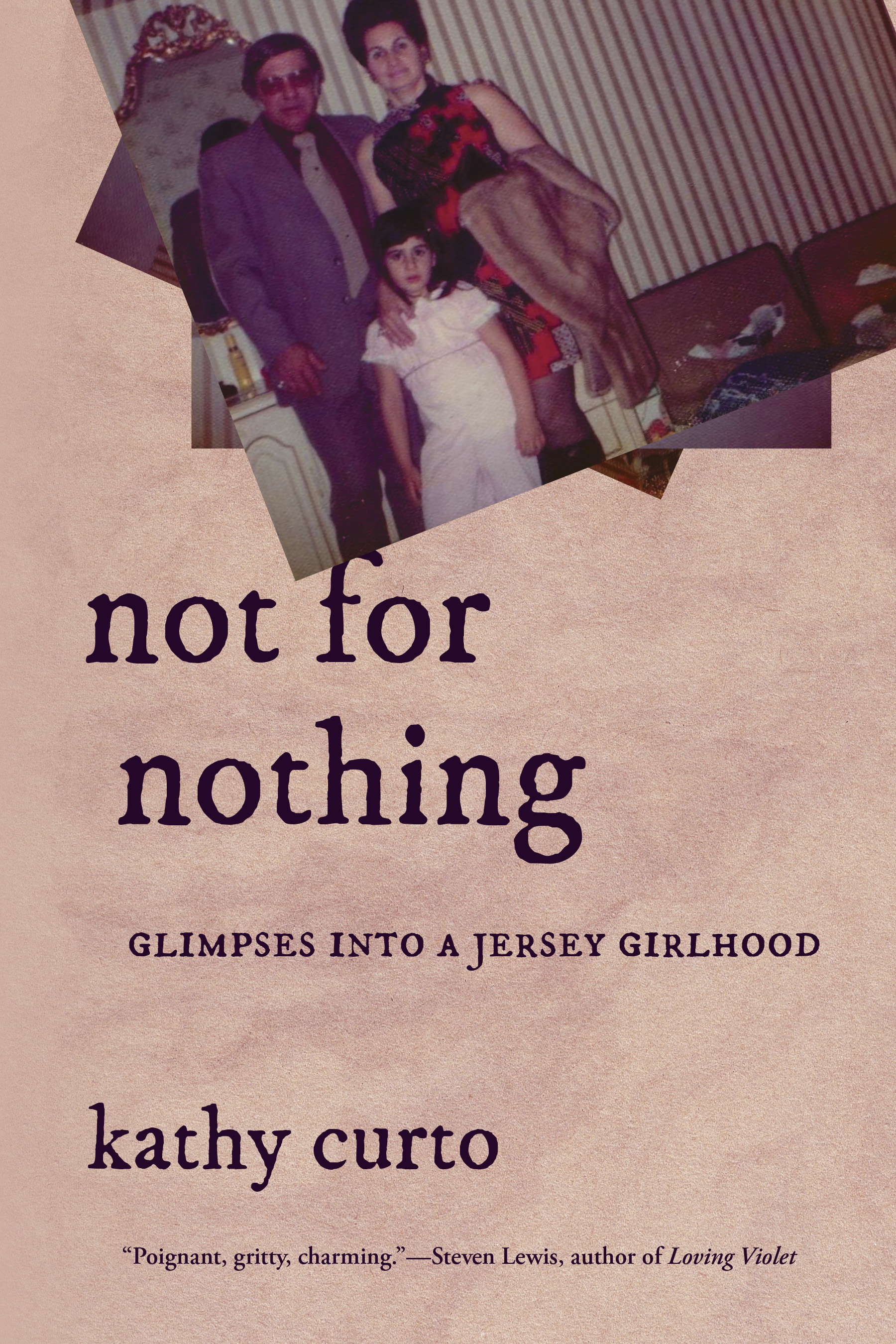 Not for Nothing by Kathy Curto (December 11, 2018; Bordighera Press)
