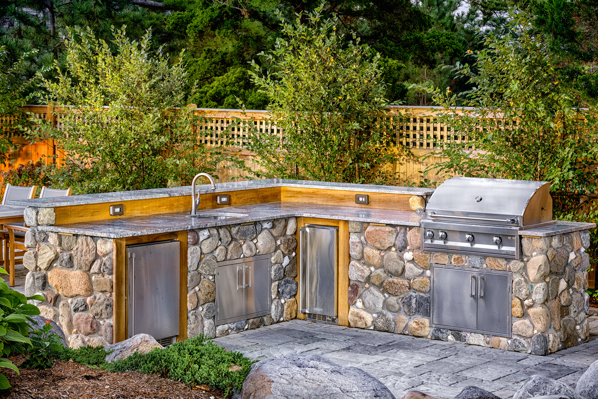 Beautiful Outdoor Grill