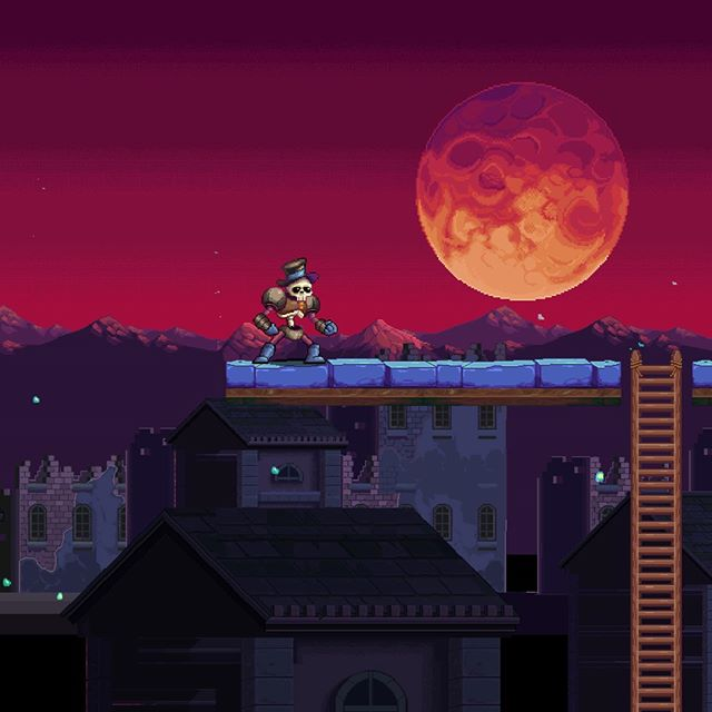 Sorry for the lack of updates #wayforward  has been keeping me busy. Here's an screen on my new personal project #Kraino more info soon! • • •  #retro #retrogames #unity2d #unitygames #animation #videogame #16bit  #software #indiegame  #pcgaming #pcgamer #indiegamedev  #gamedev #gamers #steam #instagamer #hibit #beautifulgame #art #digitalart #illustration #graphicdesign #starvingartist #kickstarter #crowdfunding #nintendoswitch #xboxone #playstation4