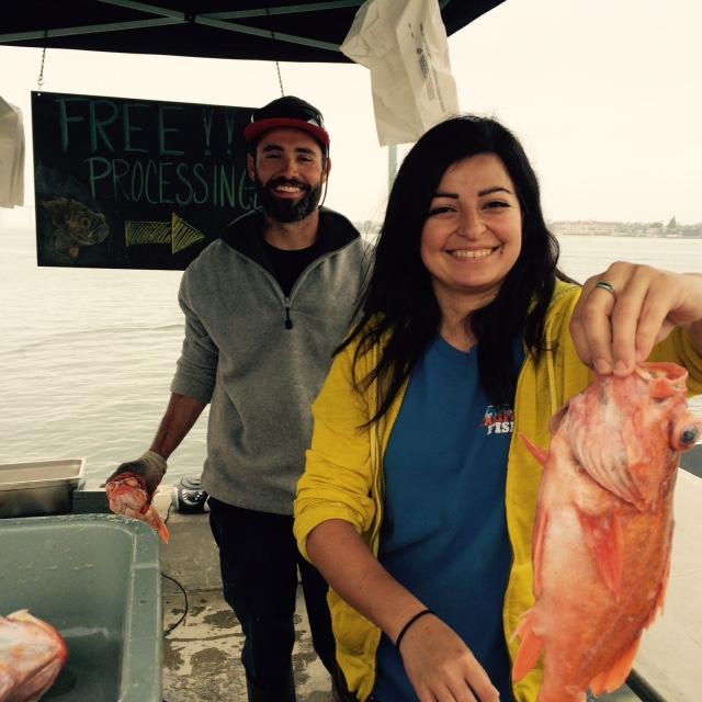 Friendly THDM fishermen. Photo credit: S. Shoffler