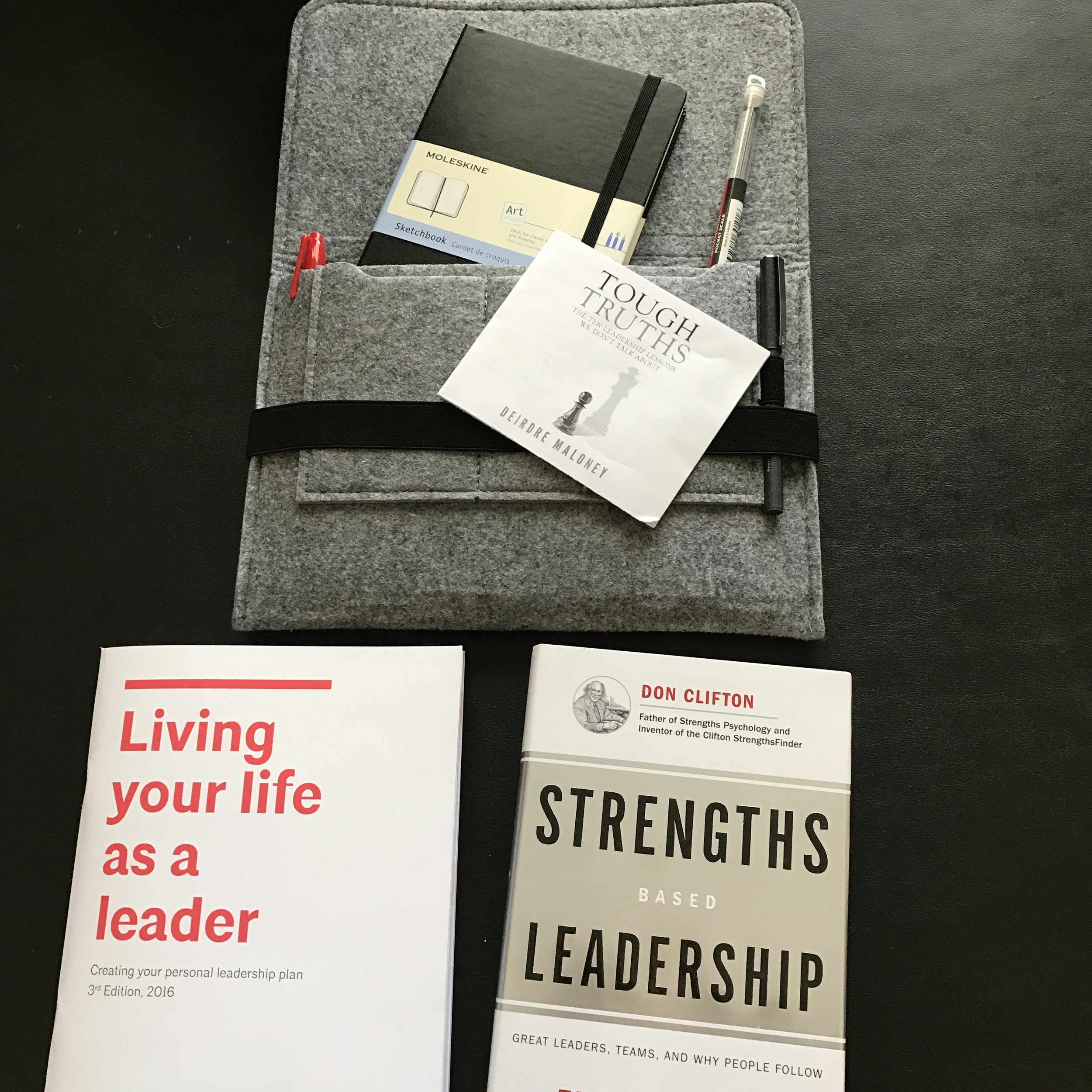 Leadership Forum 2017 welcome package