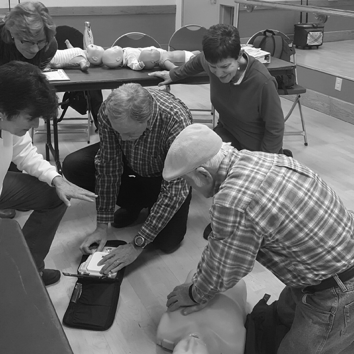 CPR and FIRST Aid Training That Comes to you -