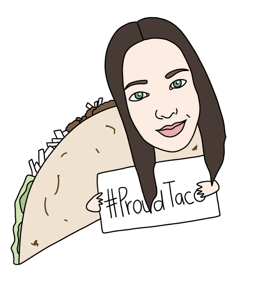 USC- Corde Martinez - Hashtag to describe yourself: #AProudTaco