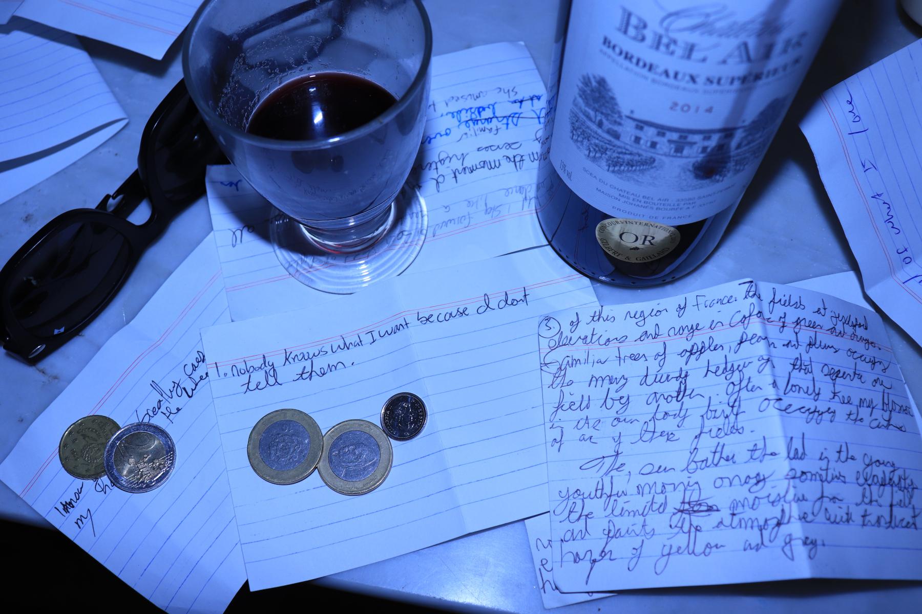 Write and take a toast