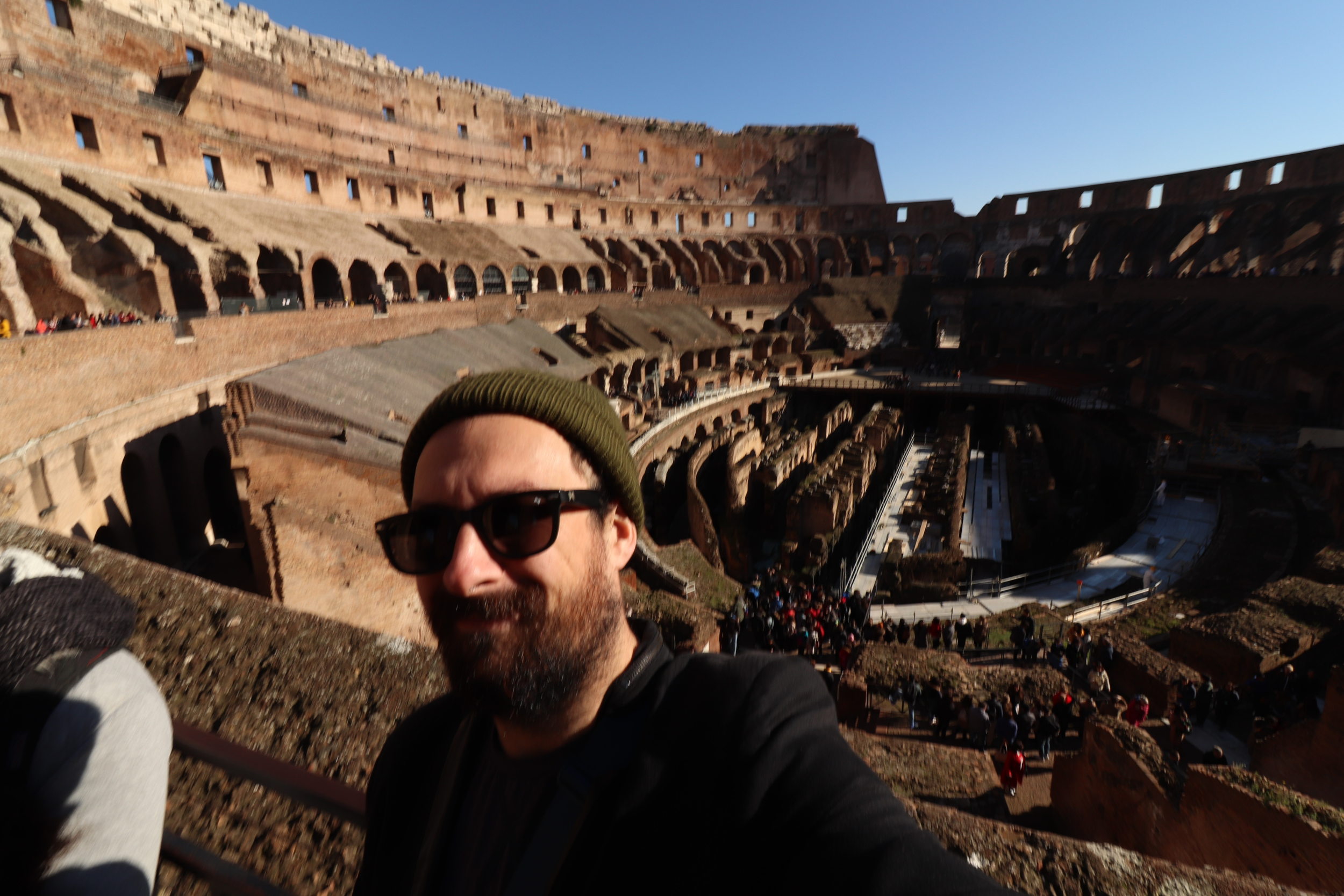 Hello from Rome!
