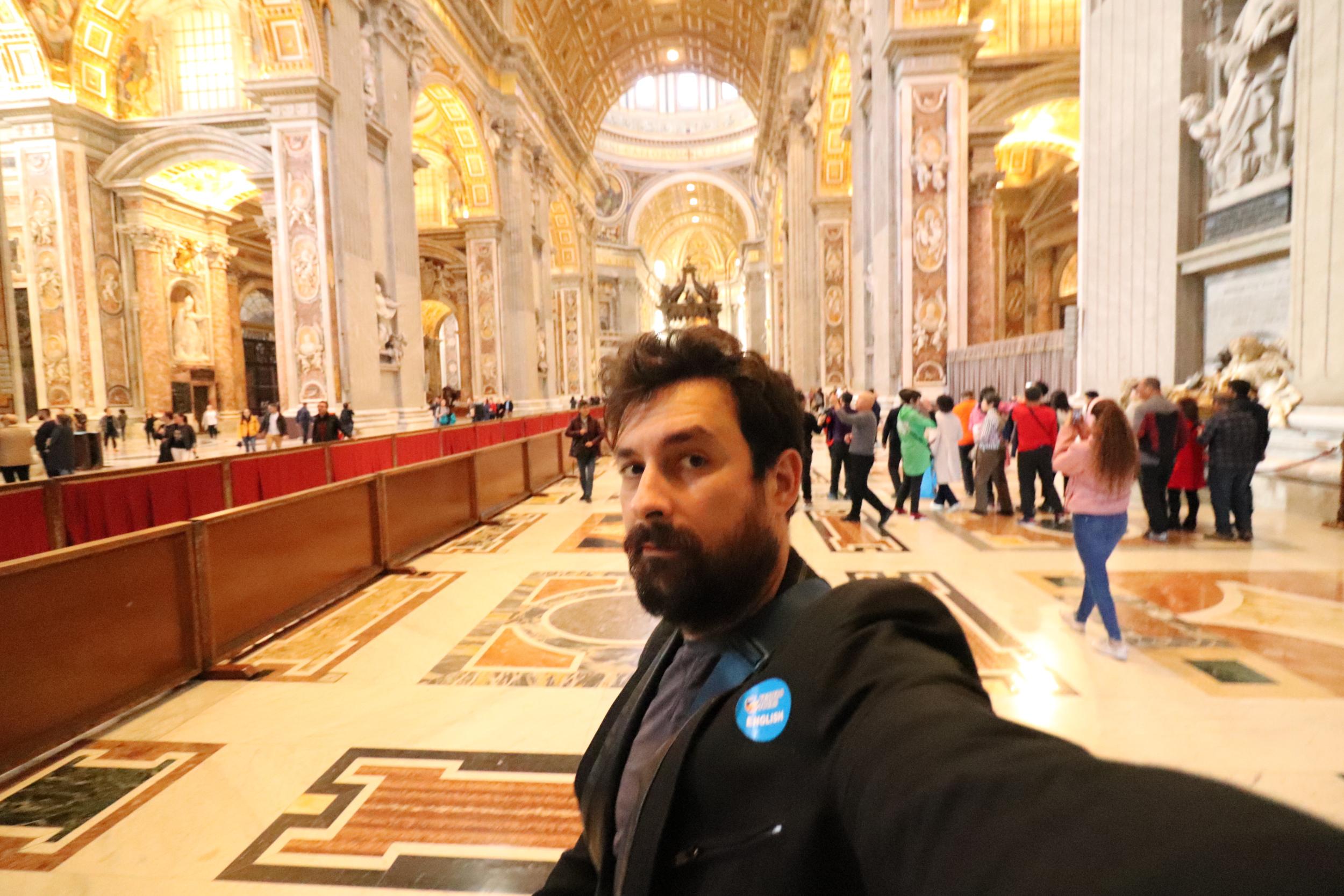 Hall in the Vatican Halls