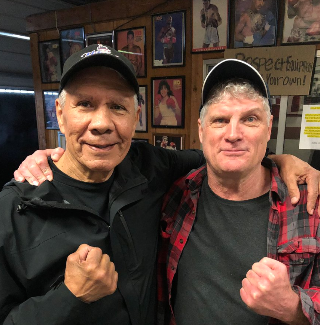 Yaqui and Glen in March 2019 -
