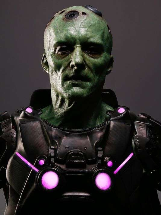 BRAINIAC ON KRYPTON