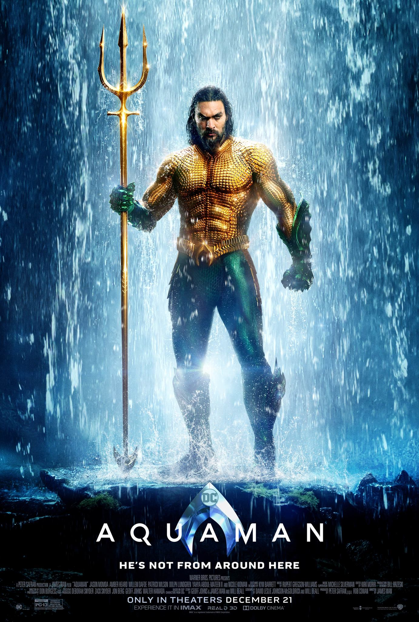Mild-Mannered Movie Review… - Join us on a special edition of Mild-Mannered Movie Review as we chat about how much we enjoyed Aquaman even if some fans and critics didn't. Enjoy!