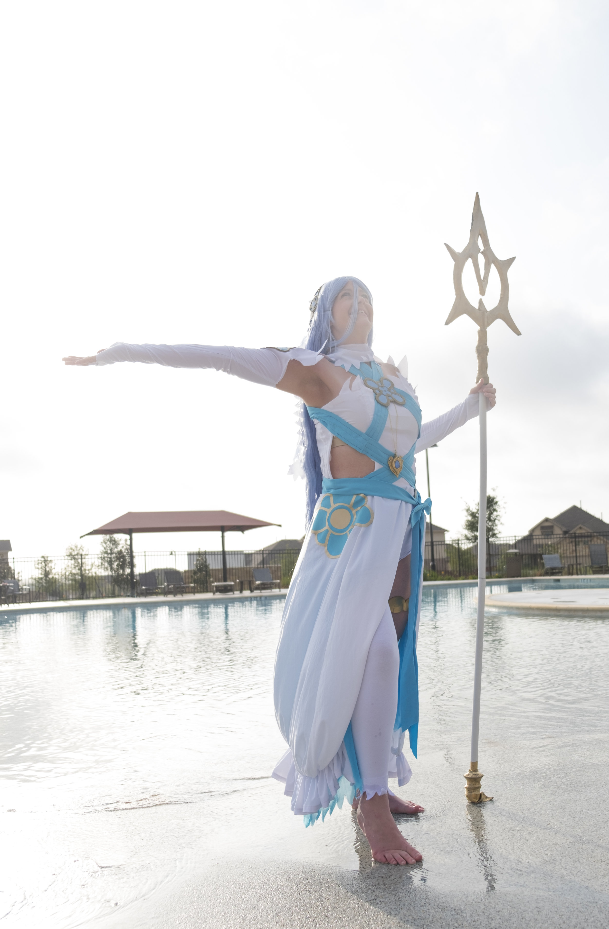 Allybelle Cosplay in Azura from Fire Emblem cosplay